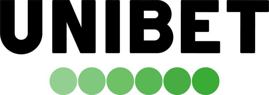 Unibet black and green logo