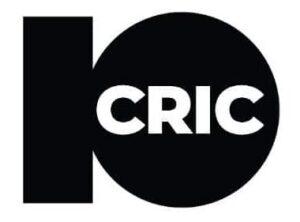10 Cric white and black logo