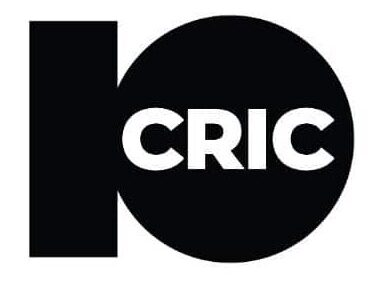 10 Cric white and black logo