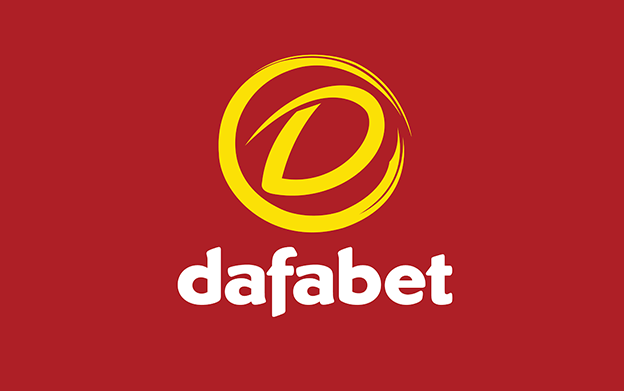 Dafabet yellow and red logo