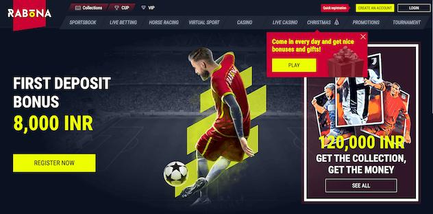 Rabona Homepage