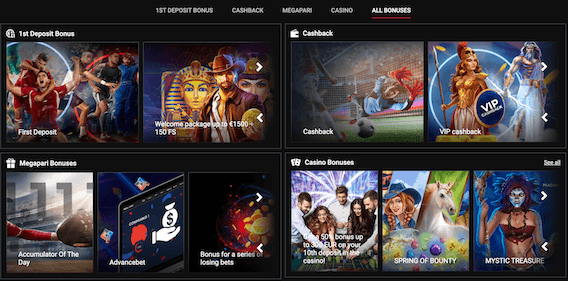 Great Offers at Megapari for Sports and Casino